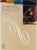 In Recital - Throughout The Year (With Performance Strategies): Volume Two - Book 6