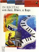 In Recital With Jazz, Blues And Rags - Book One (Book And CD)