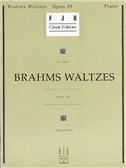 Johannes Brahms: Brahms Waltzes Op.39
