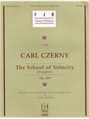 Carl Czerny: School Of Velocity Op.299. Piano Sheet Music