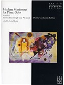 Dianne Goolkasian Rahbee: Modern Miniatures For Piano Solo - Volume 2