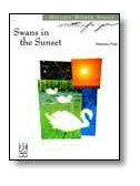 Melody Bober: Swans in the Sunset