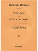 Edmund Rubbra: Concerto For Violin And Orchestra Op.103 (Violin/Piano)