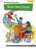 Alfred's Basic Piano Library: All-In-One Course Book Two