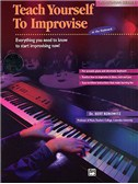 Teach Yourself To Improvise At The Keyboard (Book/CD)