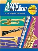 John O'Reilly And Mark Williams: Accent On Achievement - Book 1: Oboe (Book/CD)