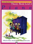 Alfred's Basic Piano Library: Theory Book Level 4