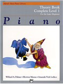 Alfred's Basic Piano Library Theory Book Complete 1