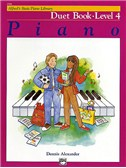 Alfred's Basic Piano Library Duet Book Lvl 4