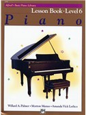 Alfred's Basic Piano Library: Lesson Book Level 6