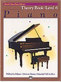 Alfred's Basic Piano Library: Theory Book Level 6