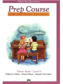 Alfred's Basic Piano Prep Course Theory: Book D