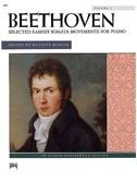 Ludwig Van Beethoven: Selected Easiest Sonata Movements Volume 1