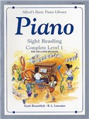 Alfred's Basic Piano Sight-reading Level 1 Complete