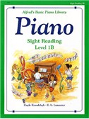 Alfred's Basic Piano Sight-reading Level 1B