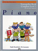 Alfred's Basic Piano Library - Notespeller Book Complete Level 1
