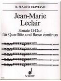 Leclair, Jean-Marie : Livres de partitions de musique