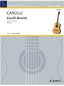 Ferdinando Carulli: Carulli-Brevier Vol