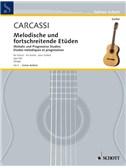 Matteo Carcassi: Melodische Und fortschreitende Etüden Op. 60