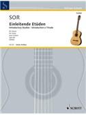 Fernando Sor: Einleitende Etüden Op. 60. Guitar Sheet Music