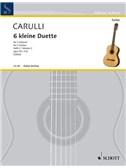 Ferdinando Carulli: Sechs Kleine Duette Op. 34 Vol. 2