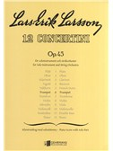 Lars-Erik Larsson: Concertino For Trumpet And Strings Op.45 No.6 (Trumpet/Piano). Sheet Music