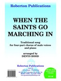 Arr. Denys Hood: When The Saints Go Marching In. TTBB Sheet Music