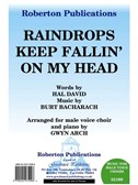 Burt Bacharach/Hal David: Raindrops Keep Fallin' On My Head - TTBB/Piano