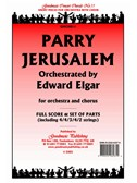 Hubert Parry: Jerusalem (Elgar) - Score/Parts