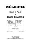 Ernest Chausson: Le Colibri - Edition For Mezzo Soprano And Baritone