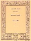 Gabriel Fauré - Pavanepour 4 voix mixtes et piano, op. 50