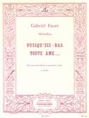 Gabriel Fauré: Puisqu