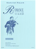 Gabriel Faure: Romance Op.28. Violin Sheet Music