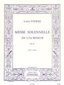 Louis Vierne - Messe solennelle en ut dièse mineur pour chant et deux orgues