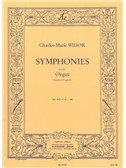 Charles-Marie Widor: Symphonies Pour Orgue Op.42 No.6. Organ Sheet Music