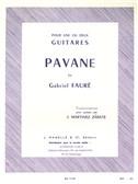 Gabriel Faur?: Pavane Op.50 (Guitar)