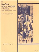 Nadia Boulanger: 3 Pieces - No. 3 In C Sharp Minor (Cello & Piano)