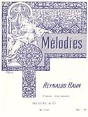 Reynaldo Hahn: Melodies Volume 2