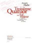 Reynaldo Hahn: Quatuor No.3 in G (Piano Quartet)