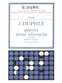 Jacques Duphly: Pièces Pour Clavecin Vol.1 (Petit)