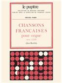 Various Composers: Chansons fran‡aises pour Orgue (LP5) (Organ)