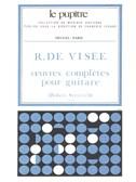 Robert de Visée: Oeuvres complètes (LP15) (Guitar solo)