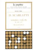 Scarlatti: Oeuvres Complètes Pour Clavier Volume 9 Sonates K408 À K457 (Lp39)