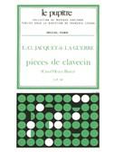 Elisabeth-Claude Jacquet de La Guerre: Harpsichord Pieces