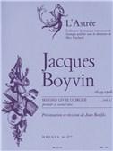 Boyvin, Jacques : Livres de partitions de musique