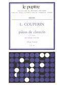 Couperin, Louis : Livres de partitions de musique