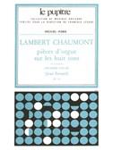 Lambert Chaumont: Pièces d'Orgue sur les huit Tons Vol.2 (LP25) (Organ)