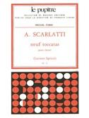 Scarlatti, A.: 9 Toccatas Clavier (Lp72)