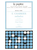 Chabrier: Mélodies volume 2/lp76/chant et piano
