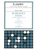 Blavet: Sonates pour flutes et continuo op 2 en deux volumes volume 1(lp 79)